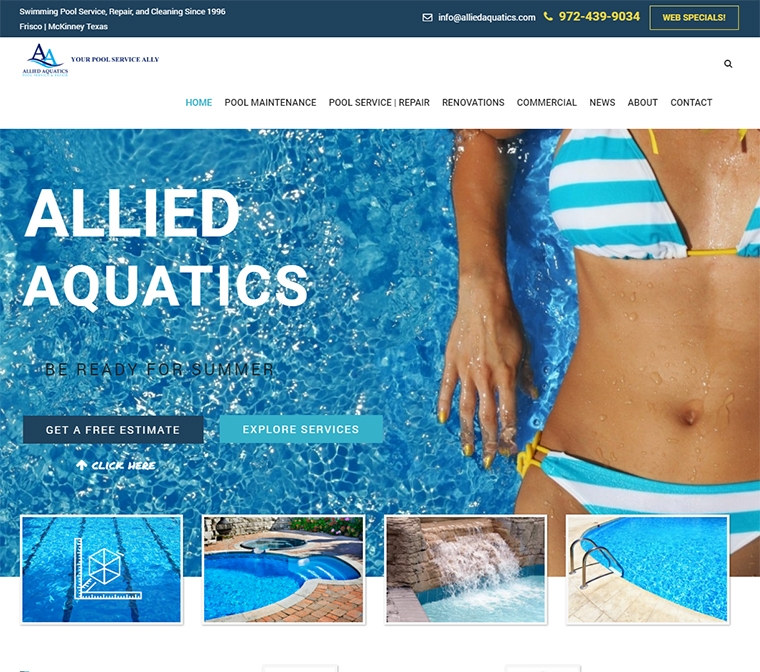 Allied Aquatics - Your Pool Service Ally