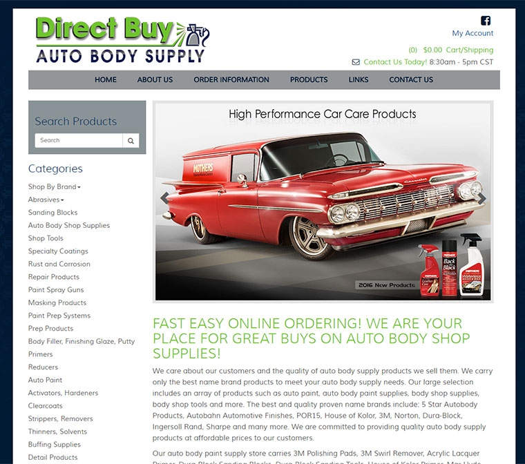 Direct Buy Auto Body Supplies