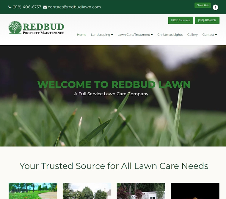 Redbud - Your Trusted Source for All Lawn Care Needs