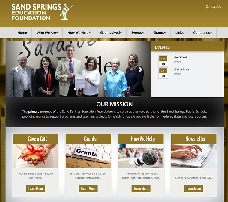 Sand Springs Education Foundation